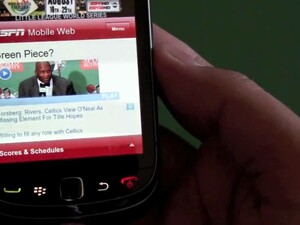 Web browser comparison - BlackBerry Bold 9700 vs. BlackBerry Torch 9800