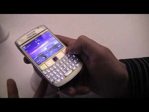 Video Hands-On of BlackBerry 6 Running on the BlackBerry Bold 9700,  Pearl 3G and Curve 9300!!