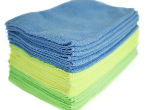 Clean your gear with a 24-pack of microfiber cleaning cloths for just $10