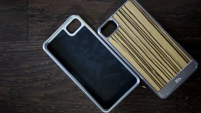Case-Mate real wood case for the BlackBerry Z10