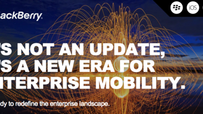 Reminder: BlackBerry hosting Enterprise event and Investor Day tomorrow!
