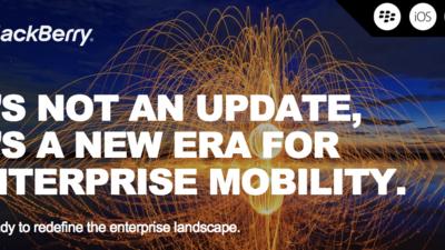 Reminder: BlackBerry hosting Enterprise event and Investor Day tomorrow!