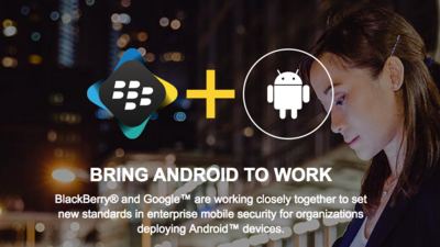 Google and BlackBerry hosting hands-on workshops demonstrating BES12 with Android For Work