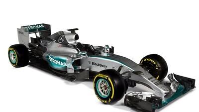 The new F1 W06 Hybrid Silver Arrow