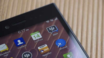 BlackBerry rolls out a small update to BBM on BlackBerry 10