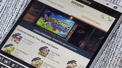 BlackBerry App Generator apps moving to Amazon Appstore