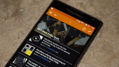 We've updated the CrackBerry app for Android to fix some bugs