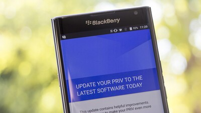 Priv's first software update now available for Bell, Rogers and TELUS customers