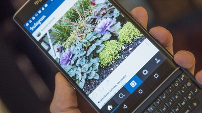 Instagram on the BlackBerry Priv
