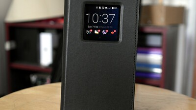 Priv Leather Flip Case