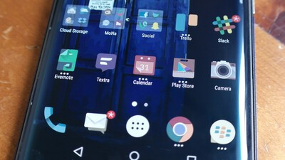 How to change the icon pack on the BlackBerry Launcher on your Priv