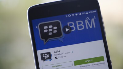 BBM for Android updated with bug fixes and support for longer chats!