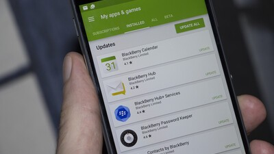 BlackBerry Hub+, Keyboard, Launcher and more updated!