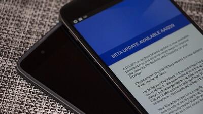 BlackBerry rolling out December beta updates for DTEK50 and DTEK60