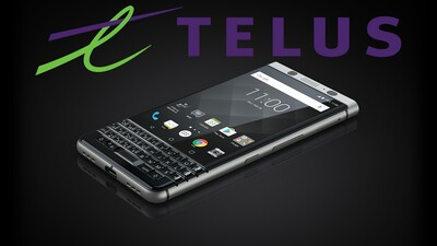 TELUS consumer account holders can now order the BlackBerry KEYone online!