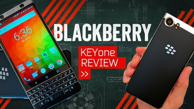 MrMobile's BlackBerry KEYone Review Video is Worth Watching