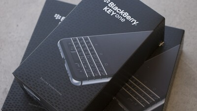 BlackBerry KEYone now available from Vodafone UK!