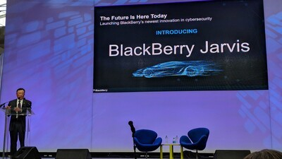 BlackBerry Launches Game Changing Cybersecurity Product: BlackBerry Jarvis