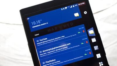 BlackBerry Productivity Tab screenshot