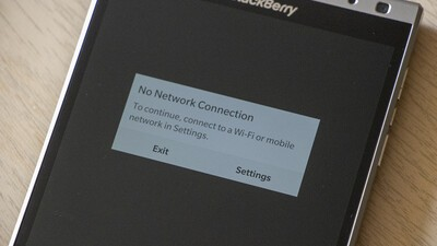 How to fix BlackBerry World 'No Network Connection' errors