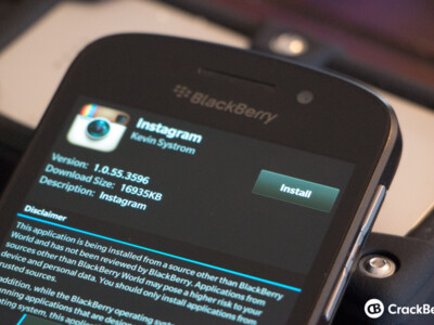 How to install an Android app (APK) to a BlackBerry