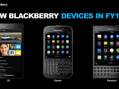 First official look at the BlackBerry Classic and BlackBerry Passport