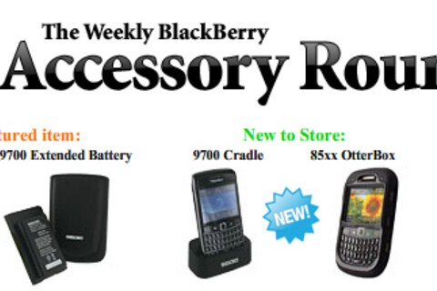 Introducing the BlackBerry Accessory Roundup for All That's New and Hot... Free Featured Item Given Away Each Week!