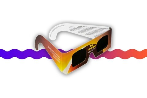 Grab a 5-pack of certified Solar Eclipse Viewing Glasses for just $5