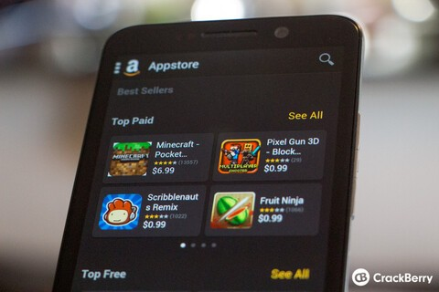 Should BlackBerry and Amazon be working together on more than just apps?