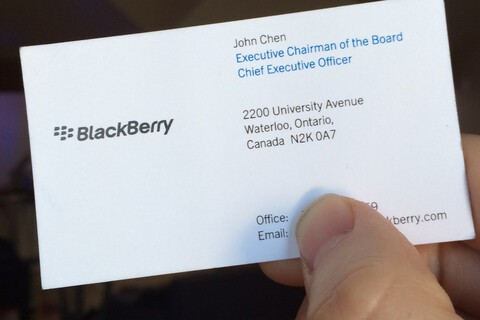 """BlackBerry is going think of ways to capitalize on the current climate, with public concern over hacking and the NSA"""