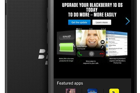 BlackBerry Z3 Render
