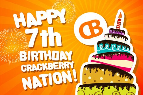 CrackBerry's 7th Birthday Contest!