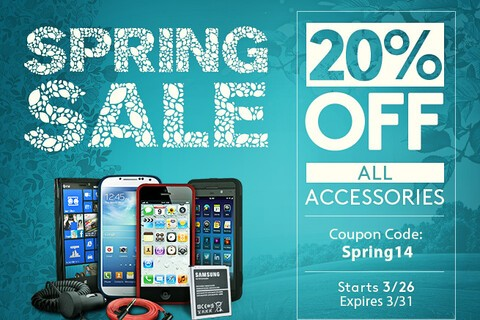 ShopCrackBerry Spring Sale: Save 20% on all BlackBerry accessories!