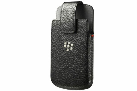 Get one of these OEM leather holsters for your BlackBerry Q10 today for only $10.95!