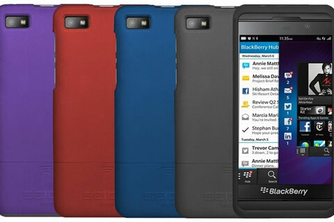 These incredibly thin BlackBerry Z10 hard cases are over 50% off today!