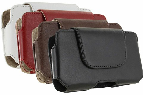 Reduced to $12.95 today, this leather holster fits your BlackBerry Z10 perfectly and looks sharp!