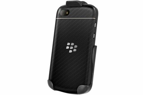 This easy-access spring clip holster for BlackBerry Q10 is on sale today for $14.95!