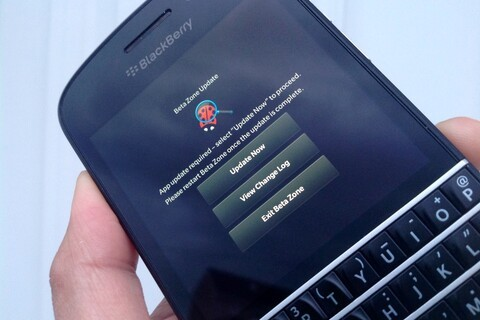 BlackBerry Beta Zone rolling out new program for 'pre-release BlackBerry products'