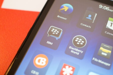 New BBM beta for BlackBerry offers landscape support, multiple picture transfer from the pictures app