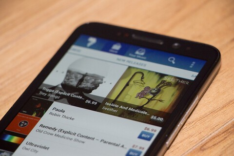7digital Music Store for BlackBerry 10 updated to v5.69.6.2