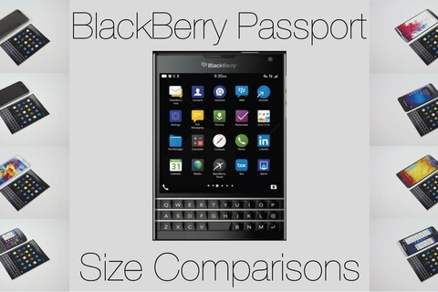 BlackBerry Passport: How does it size up against other devices?