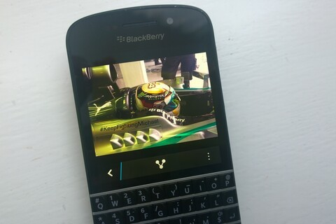 BlackBerry and MERCEDES AMG PETRONAS - Still going strong