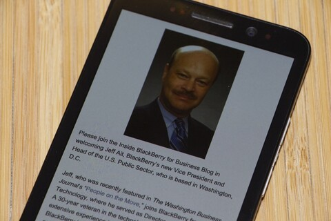VP and Head of U.S. Public Sector Jeffrey Ait shares why he joined BlackBerry