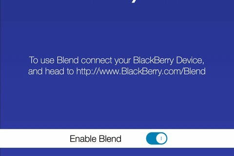 BlackBerry Blend Beta appears once again, this time on a Passport