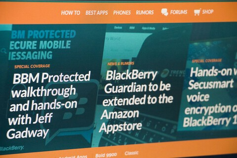 Check out the all-new CrackBerry header!