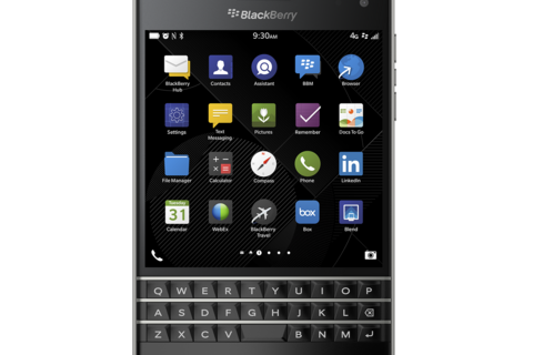 BlackBerry Passport redefines productivity for mobile professionals with boundary-breaking design and features