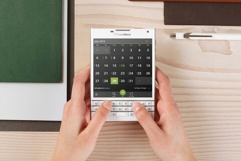 Here's another look at how some apps will run on the BlackBerry Passport