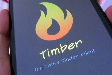 Third party Tinder client Timber now available for BlackBerry 10