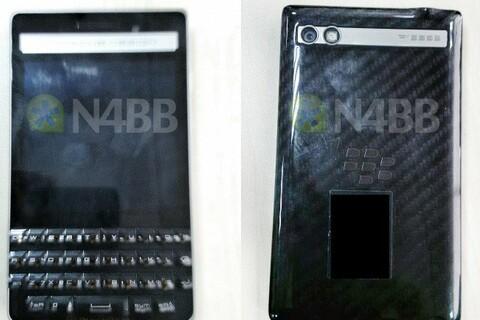 BlackBerry P'9983 'Khan' gets the blurry photo treatment
