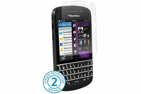 We slashed the price of these BlackBerry Q10 screen protectors today—now $8.95!